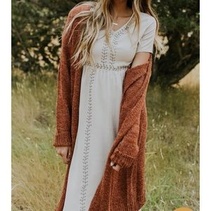 Ramona Embroidered Maxi ROOLEE